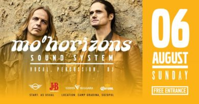 Mo'Horizons Soundsystem Live on the beach